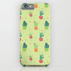 Cactus Party Pattern Slim Case iPhone 6s