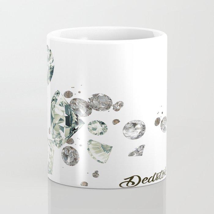 Falling Diamonds Coffee Mug