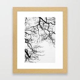 Branching Framed Art Print