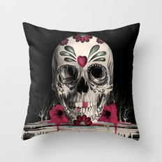 Pulled Sugar Throw Pillow
