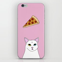 Fat D. Loves Pizza iPhone Skin