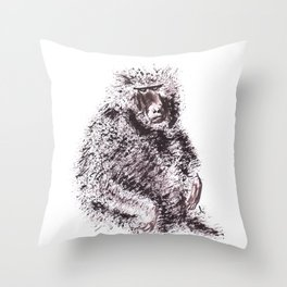 Simio Throw Pillow