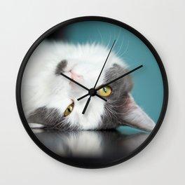 Cute Cat Wall Clock
