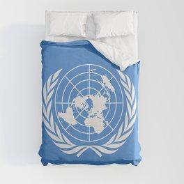 United Nations Flag Duvet Cover