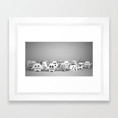 Fantasmici Framed Art Print