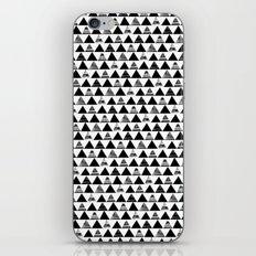B/W Triangles iPhone & iPod Skin