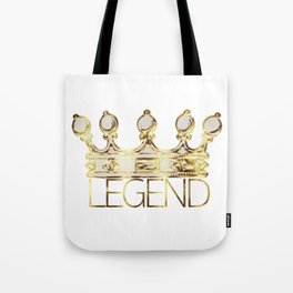 LEGEND CROWN Tote Bag