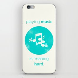 Playing Music is Freaking Hard. iPhone Skin