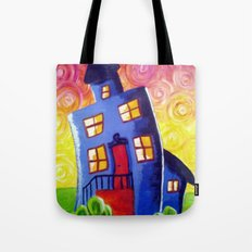Happy House Tote Bag
