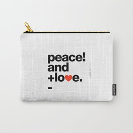 Helvetica Typoster #8 Carry-All Pouch