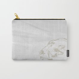 Pale Skull Carry-All Pouch