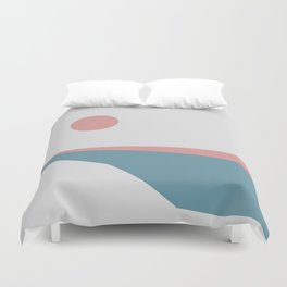 Sunrise at Newton Duvet Cover