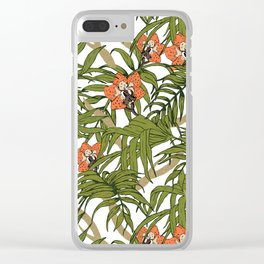 Exotic nature Clear iPhone Case