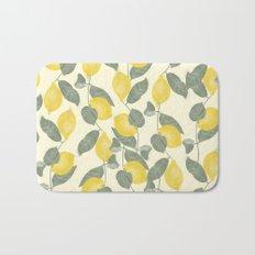 Citrus Pattern Bath Mat