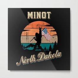 Minot North Dakota Metal Print