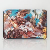 final fantasy iPad Cases featuring Final Fantasy by Tamika