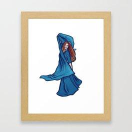 Dawn Belly Dancer Framed Art Print