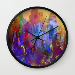 A new day comes Wall Clock