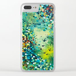 Dimensions of Flow Clear iPhone Case