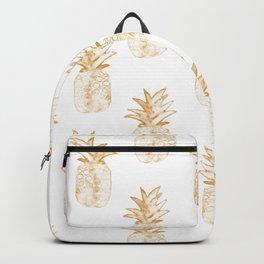 Orange Pineapple Backpack