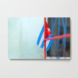 132. Cuban Flag, Cuba Metal Print