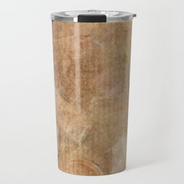 Antique Vintage Textured Background Travel Mug