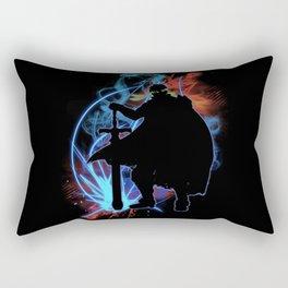 Super Smash Bros. Ike Silhouette Rectangular Pillow