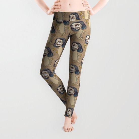 DINOSAUR GIRL Leggings
