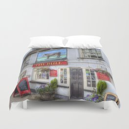 The Bull Pub Theydon Bois Duvet Cover