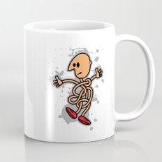 Curled Man Mug