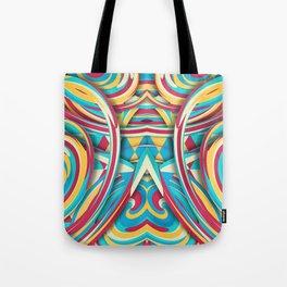 Spiral Color Tote Bag