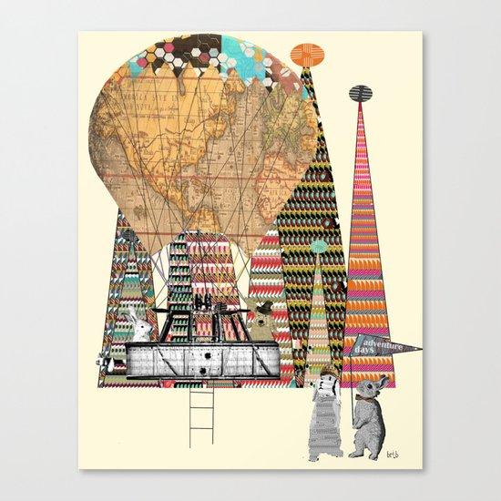 adventure days Canvas Print