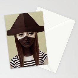 Ceci n'est pas un chapeau Stationery Cards