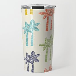 Palm Tree Pattern 22 Travel Mug