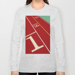 Running Track 123 Long Sleeve T-shirt