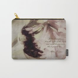Fading Away Carry-All Pouch