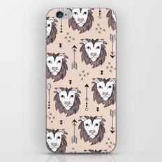 Summer lion pastel zoo iPhone & iPod Skin