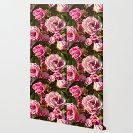 Fowers in Pink Wallpaper