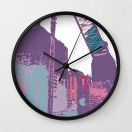 NY#3 (Lost Time) Wall Clock