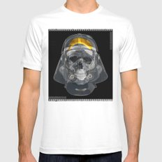 vader xray Mens Fitted Tee White MEDIUM