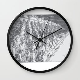 Industrious Wall Clock