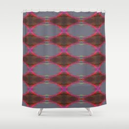 Pink glow 1 Shower Curtain