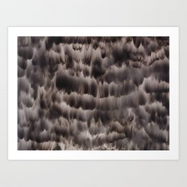 Canvas Smoked Art Print