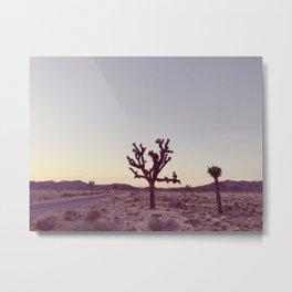 JOSHUA TREE (VINTAGE) Metal Print