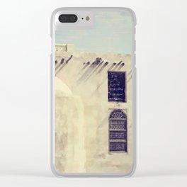 A Faded Arabian Dream Clear iPhone Case