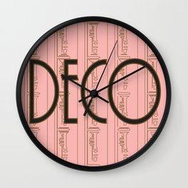 Deco Print Wall Clock