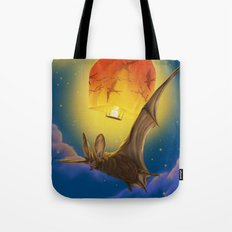 Afraid of the light  Tote Bag