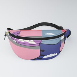 Colorful walk Fanny Pack