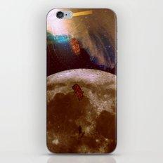 fantasy surf on the moon iPhone & iPod Skin