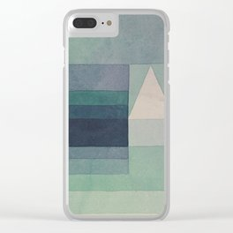 Three Houses Clear iPhone Case